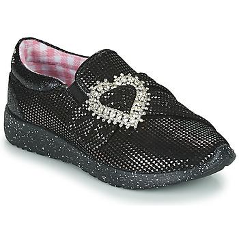 Topánky Ženy Nízke tenisky Irregular Choice TWO SHAKES Čierna