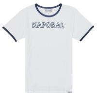 Oblečenie Chlapci Tričká s krátkym rukávom Kaporal ONYX Biela