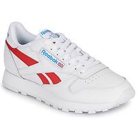 Topánky Nízke tenisky Reebok Classic CL LTHR Biela / Červená