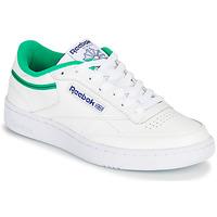 Topánky Nízke tenisky Reebok Classic CLUB C 85 Biela / Zelená