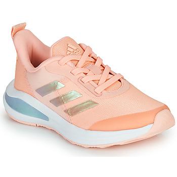 Topánky Dievčatá Nízke tenisky adidas Performance FORTARUN  K Ružová