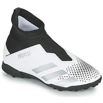 Topánky Deti Futbalové kopačky adidas Performance PREDATOR 20.3 LL TF Biela