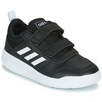 Topánky Deti Nízke tenisky adidas Performance TENSAUR C Čierna / Biela