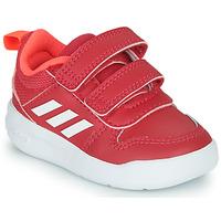 Topánky Dievčatá Nízke tenisky adidas Performance TENSAUR I Ružová / Biela