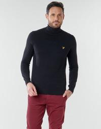 Oblečenie Muži Svetre Lyle & Scott KN1020V Čierna