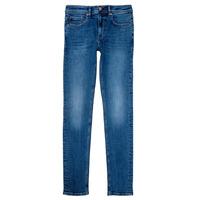 Oblečenie Chlapci Rifle Skinny  Teddy Smith FLASH Modrá