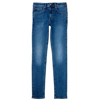 Oblečenie Chlapci Rovné Rifle  Teddy Smith FLASH Modrá