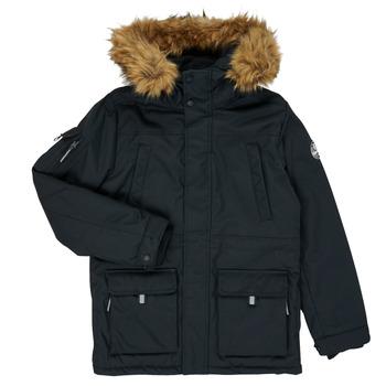 Oblečenie Chlapci Parky Teddy Smith KILIAN Čierna