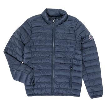 Oblečenie Chlapci Vyteplené bundy Teddy Smith BLIGHT Námornícka modrá