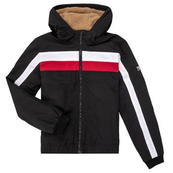 Oblečenie Chlapci Bundy  Teddy Smith BROCK Čierna