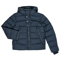 Oblečenie Chlapci Vyteplené bundy Teddy Smith OVER Námornícka modrá