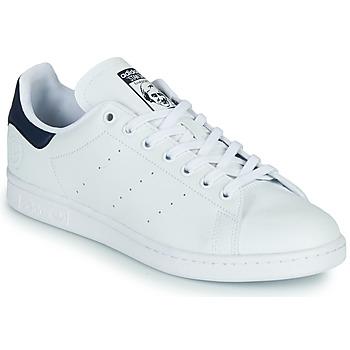 Topánky Nízke tenisky adidas Originals STAN SMITH VEGAN Biela / Modrá