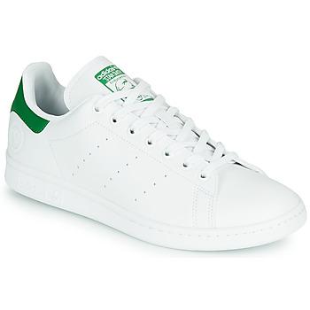 Topánky Nízke tenisky adidas Originals STAN SMITH VEGAN Biela / Zelená