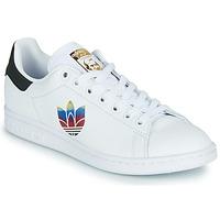 Topánky Ženy Nízke tenisky adidas Originals STAN SMITH W Biela / Logo
