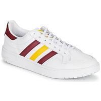 Topánky Nízke tenisky adidas Originals TEAM COURT Biela / Bordová / Žltá