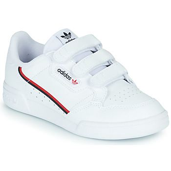 Topánky Deti Nízke tenisky adidas Originals CONTINENTAL 80 CF C Biela