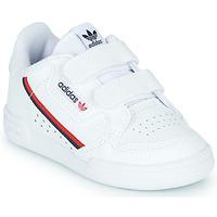 Topánky Deti Nízke tenisky adidas Originals CONTINENTAL 80 CF I Biela