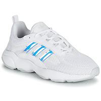 Topánky Dievčatá Nízke tenisky adidas Originals HAIWEE J Biela / Perleťový