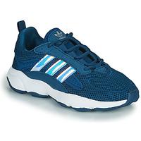 Topánky Chlapci Nízke tenisky adidas Originals HAIWEE J Modrá