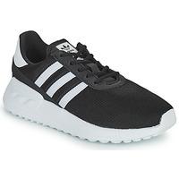 Topánky Deti Nízke tenisky adidas Originals LA TRAINER LITE C Čierna / Biela