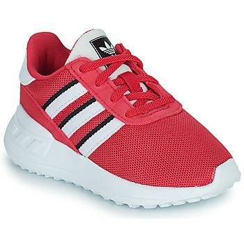 Topánky Dievčatá Nízke tenisky adidas Originals LA TRAINER LITE EL Ružová