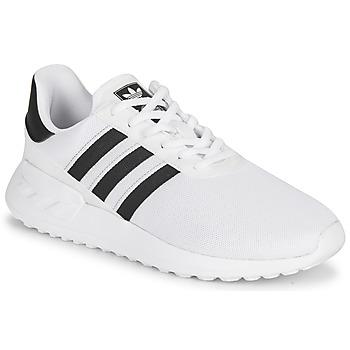 Topánky Deti Nízke tenisky adidas Originals LA TRAINER LITE J Biela / Čierna