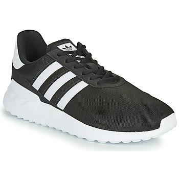 Topánky Deti Nízke tenisky adidas Originals LA TRAINER LITE J Čierna / Biela