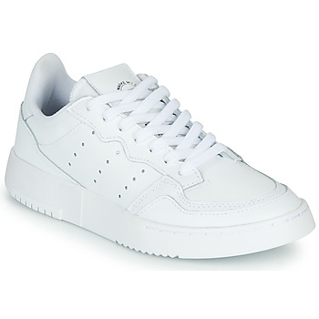 Topánky Deti Nízke tenisky adidas Originals SUPERCOURT J Biela