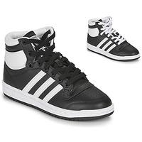 Topánky Deti Členkové tenisky adidas Originals TOP TEN J Čierna / Biela