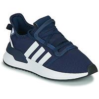Topánky Chlapci Nízke tenisky adidas Originals U_PATH RUN J Námornícka modrá / Biela