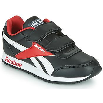 Topánky Deti Nízke tenisky Reebok Classic REEBOK ROYAL CLJOG Čierna / Biela / Červená