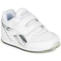 Topánky Dievčatá Nízke tenisky Reebok Classic REEBOK ROYAL CLJOG Biela / Strieborná