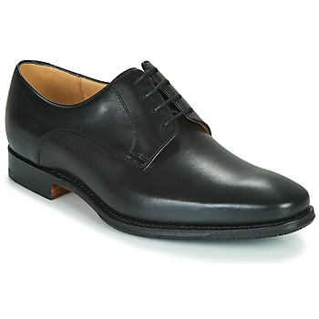Topánky Muži Derbie Barker ELLON Čierna