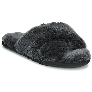 Topánky Ženy Papuče EMU MAYBERRY FROST Čierna