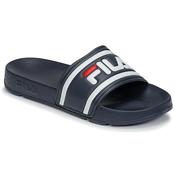 Topánky Ženy športové šľapky Fila MORRO BAY SLIPPER 2.0 WMN Modrá