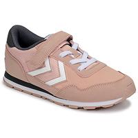 Topánky Dievčatá Nízke tenisky Hummel REFLEX JR Ružová