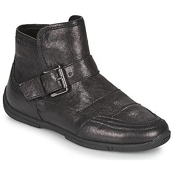 Topánky Ženy Polokozačky Geox AGLAIA Čierna