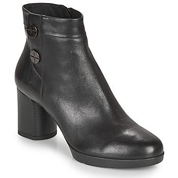 Topánky Ženy Čižmičky Geox ANYLLA MID Čierna