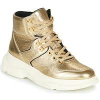 Topánky Ženy Čižmičky Geox MACAONE Zlatá