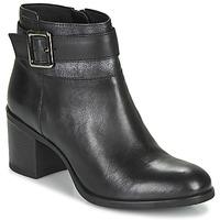 Topánky Ženy Čižmičky Geox NEW ASHEEL Čierna