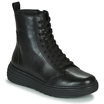 Topánky Ženy Polokozačky Geox PHAOLAE Čierna