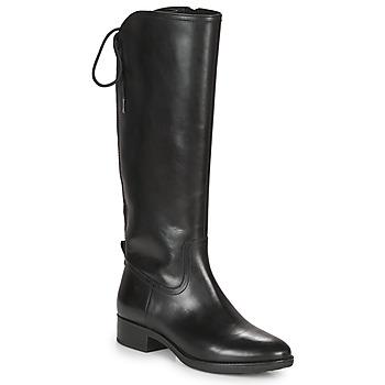 Topánky Ženy Čižmy do mesta Geox FELICITY Čierna