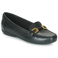 Topánky Ženy Mokasíny Geox ANNYTAH MOC Čierna