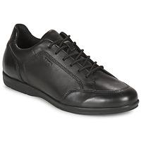Topánky Muži Derbie Geox ADRIEN Čierna