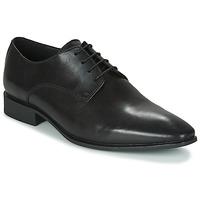 Topánky Muži Derbie Geox UOMO HIGH LIFE Čierna