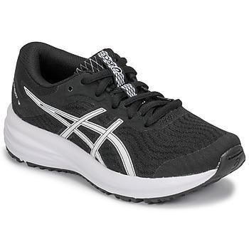 Topánky Deti Bežecká a trailová obuv Asics PATRIOT 12 GS Čierna / Biela