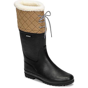 Topánky Ženy Snehule  Aigle POLKA GIBOULEE Námornícka modrá / Béžová