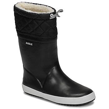 Topánky Deti Snehule  Aigle GIBOULEE Čierna