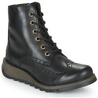 Topánky Ženy Polokozačky Fly London SARL069FLY Čierna