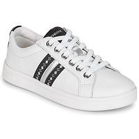 Topánky Dievčatá Nízke tenisky Geox DJROCK Biela
